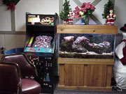 Here at The Clover Bar we cater to everyone and have a large game room for the kids.